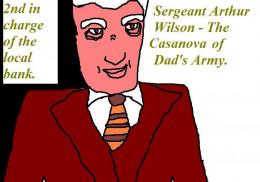 Sergeant Wilson in civilian clothes.