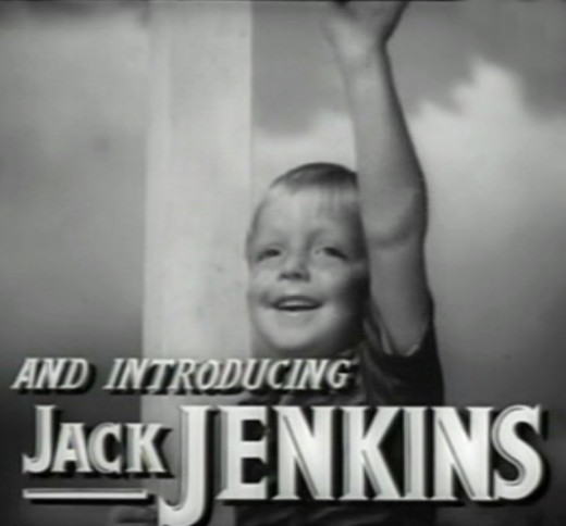 "Jack Jenkins in his first film, ""The Human Comedy"", 1943"