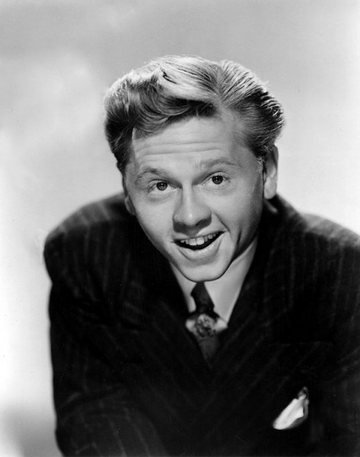 Mickey Rooney as he looked in 1945.
