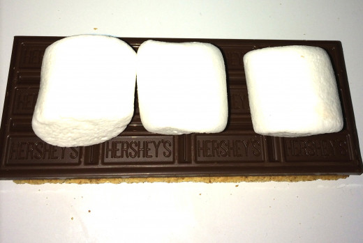 XL S'more. Double the ooey, double the gooey!