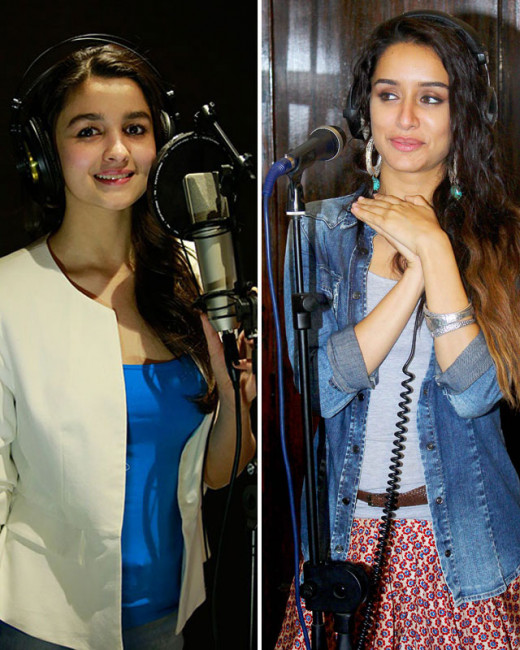 Bollywood News and Gossip VISIT BISCOOT SHOWTYM FOR FULL STORY CLICK BELOW : http://www.biscoot.com/showtym Alia Bhatt and Shraddha Kapoor are going out of their way by singing.