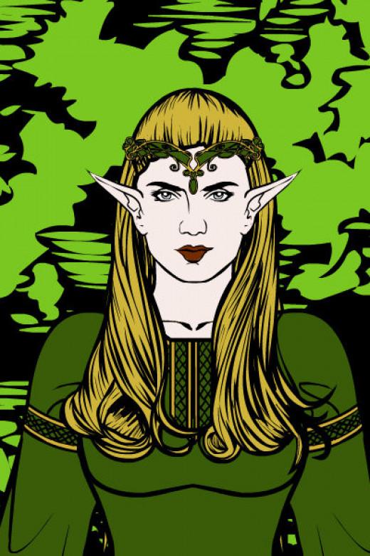 The Elvish Princess Sigrid