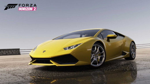 The new Lamborghini in Horizon 2