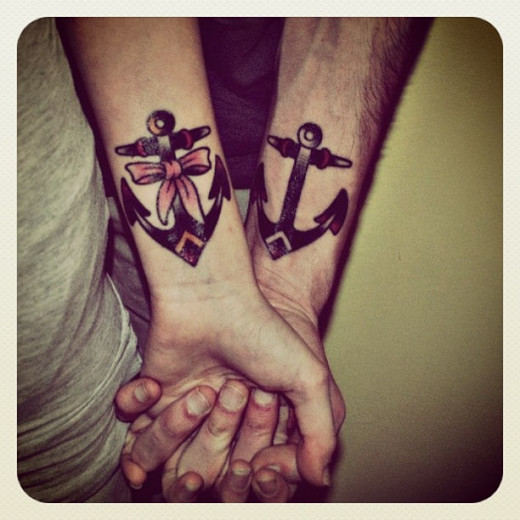 His & Her Anchors