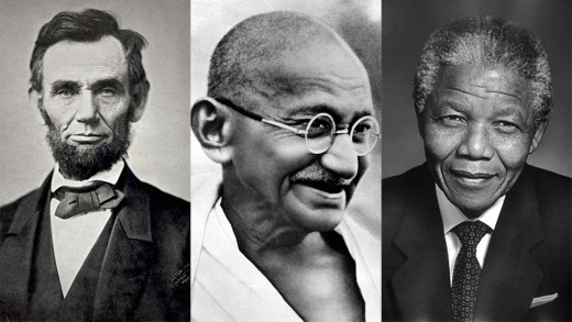 What are the common qualities of these iconic leaders?