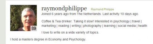 The Creative & Exploring Author http://raymondphilippe.hubpages.com/