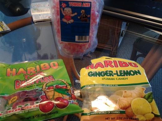 Ginger-Lemon Gummi Candy is delicious.