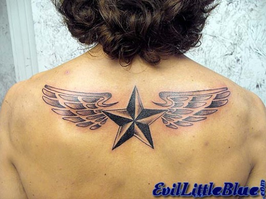 More great angel wings tattoo designs and ideas.