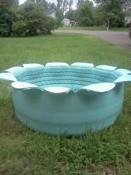 Blue Planter I made