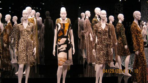 Diane von Furstenberg's wrap dresses