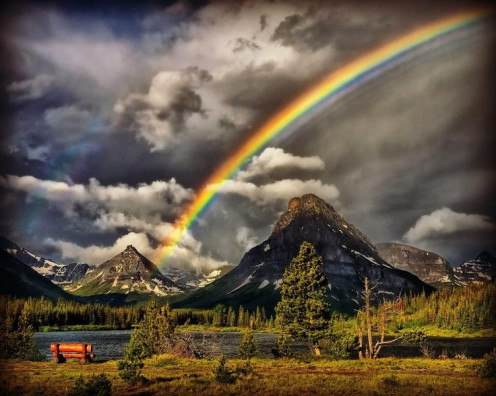 """Genesis 9:11--"""" 'I will establish My covenant or pledge with you: Never again shall all flesh be cut off by the waters of a flood; neither shall there ever again be a flood to destroy the earth and make it corrupt.' """""""