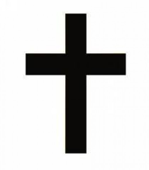 The Christian cross. To me, just a symbol of mystical nonsense.