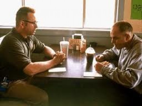 John Ritter co-Starred with Billy Bob Thornton in Sling Blade. The movie was rated R, won several awards and it showed Mr. Ritter in a serious  movie.