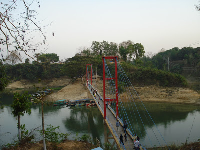 Hanging bridge, Rangamati