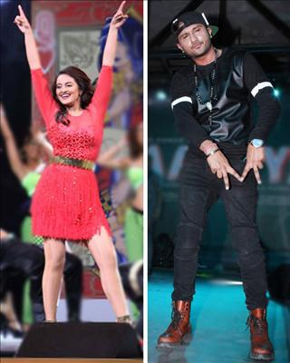 Yo Yo Honey Singh has roped in Sonakshi Sinha to feature in an an international music video. Visit Biscoot Showtym for more: http://www.biscoot.com/showtym