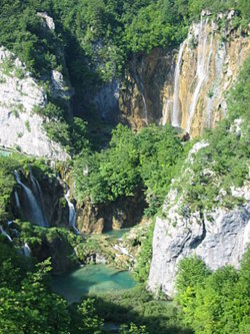 Plitvice Lakes is another spectacular sight.