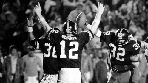 Terry Bradshaw and the Steel Curtain were one of the best football dynasty's in history.