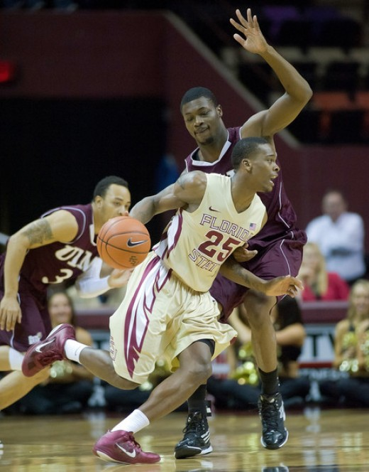 Florida State junior guard Aaron Thomas
