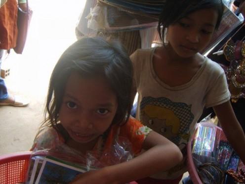 Postcard sellers
