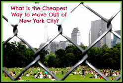 What is the Cheapest Way to Move Out of New York City?