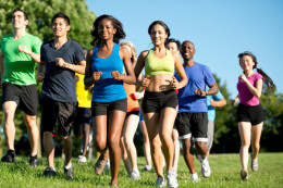 Group Jogging