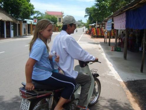 Thu's brother's motor bike tour