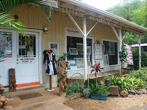 Shop in Historic Hanapepe Town