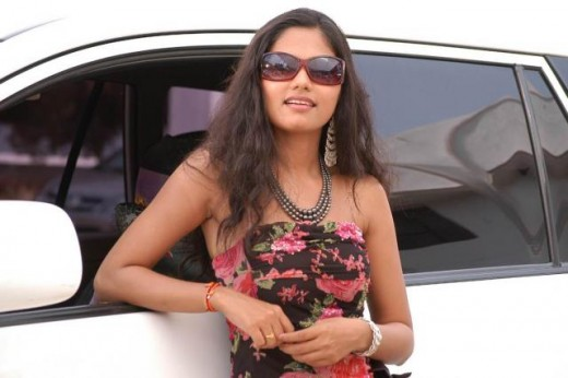 --Telugu actress Suhasini--