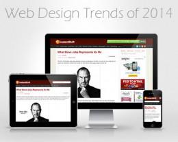 Hottest Web Design Trends of 2014