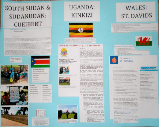Dioceses in Sudan, Uganda and Wales
