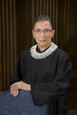 RUTH BADER GINSBURG SEES FEMINISM EVEN WHERE THERE IS NONE