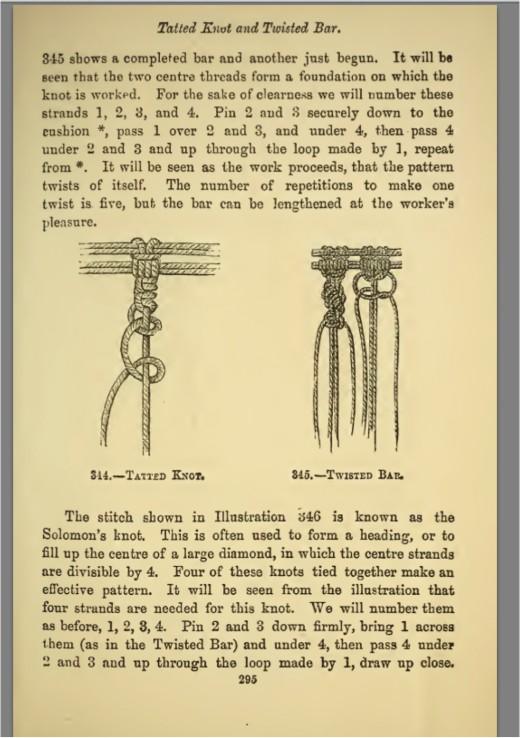 Basic Macrame Knots that never change