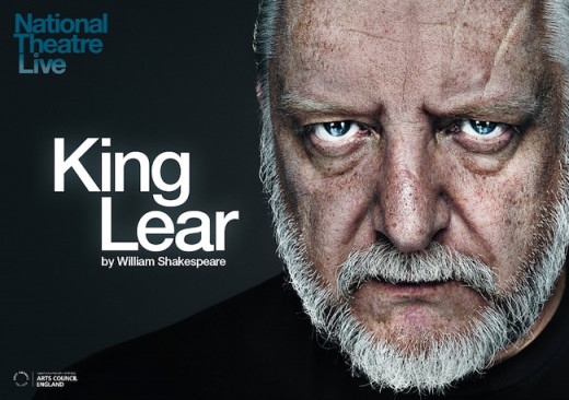 The original poster featuring Simon Russell Beale in the title role.