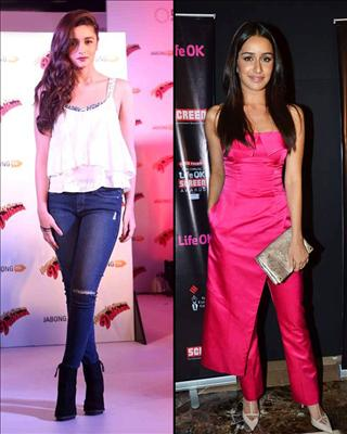Alia Bhatt may have impressed everyone with her recent performances but she is keeping a close watch on her arch rival Shraddha Kapoor. the actress who is all set for her upcoming release Humpty Sharma Ki Dulhania@BiscootShowtym.