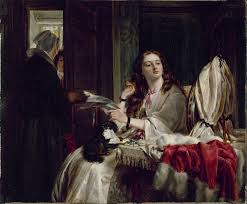 The Morning of St. Valentine's Day - Painting By John Callcott Horsley