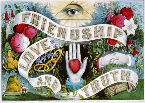 Friendship, love or truth? (public domain)