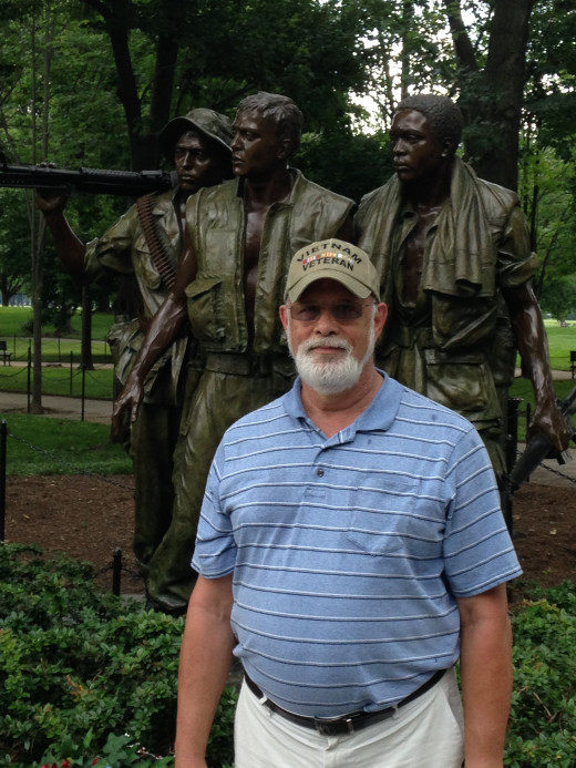 THREE SOLDIERS FROM VIETNAM AND ME