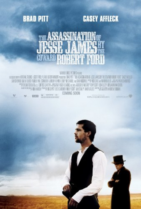 ASSASSINATION OF JESSE JAMES MOVIE POSTER 1 Sided ORIGINAL 27x40