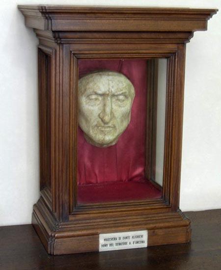 Replica of Dante's Death Mask