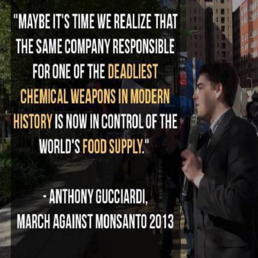 via March against Monsanto Facebook page, February 2014