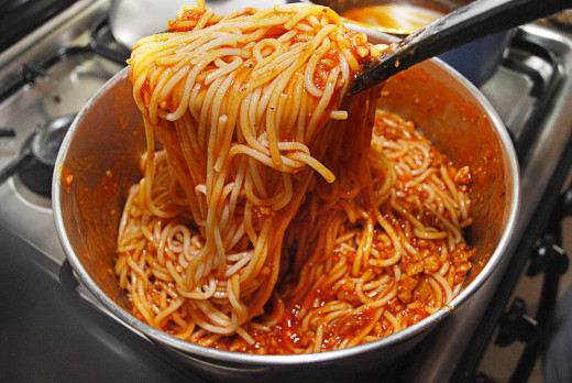 one dish spaghetti