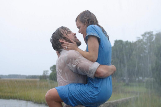 "Gosling and McAdams in ""The Notebook"""