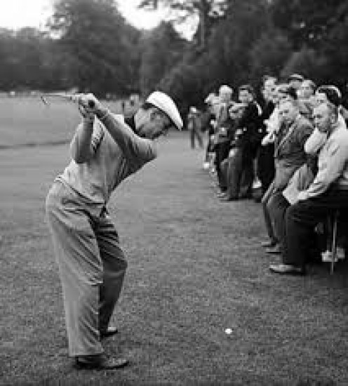 Ben Hogan was skilled in all aspects of the game of golf and it showed with some great performances on the greens.