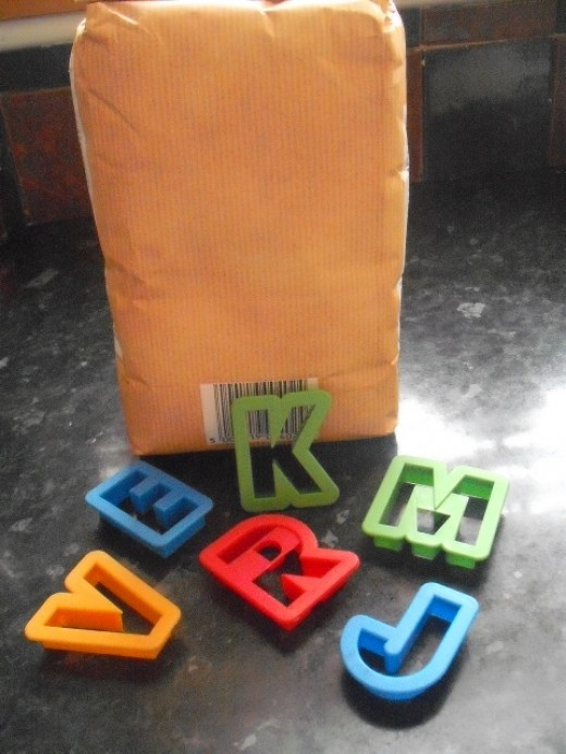 Letters everywhere!