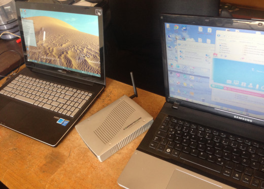 how to connect two desktop computers together