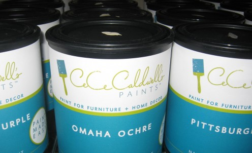 By Using CeCe Caldwell's Paints Eco-Friendly, Natural Clay Paints, Amazing Furniture Ideas Come To Life!