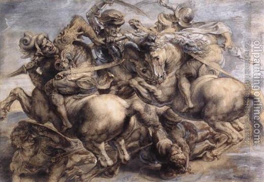 Leonardo Da Vinci oil painting