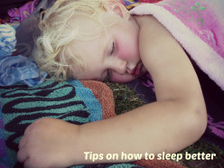 Some tips on how to sleep better