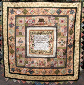 Garden of Dreams block of the month quilt