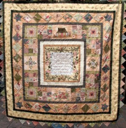 Garden of Dreams block of the month quilt